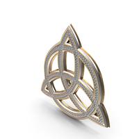 Bling Diamonds Pagan Infinity Symbol PNG & PSD Images