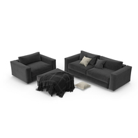 Design Within Reach Reid Sectional PNG & PSD Images