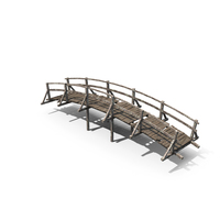 Old Wooden Bridge PNG & PSD Images