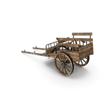 Old Wooden Cart PNG & PSD Images