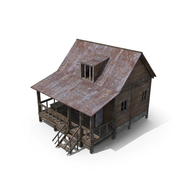 Old Wooden House PNG & PSD Images