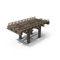 Old Wooden Railway Bridge PNG & PSD Images