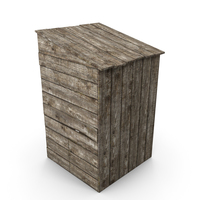 Old Wooden Toilet PNG & PSD Images