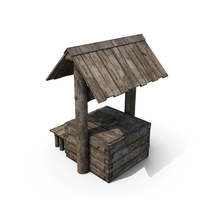 Old Wooden Well PNG & PSD Images