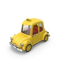 Cartoon Taxi PNG & PSD Images