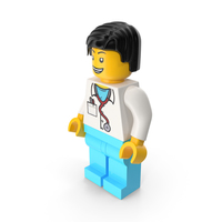 Lego Doctor PNG & PSD Images