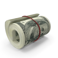 100 Dollar Roll PNG & PSD Images