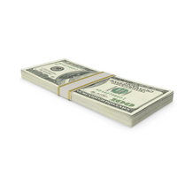 100 Dollar Stack PNG & PSD Images