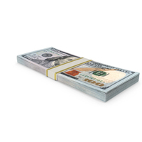 NEW 100 Dollar Stack PNG & PSD Images