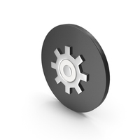 Gear Icon Chrome PNG & PSD Images