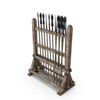 Spear Rack PNG & PSD Images
