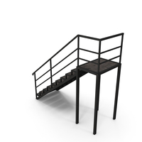 Stairs Back Output PNG & PSD Images