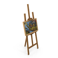 Studio Easel PNG & PSD Images