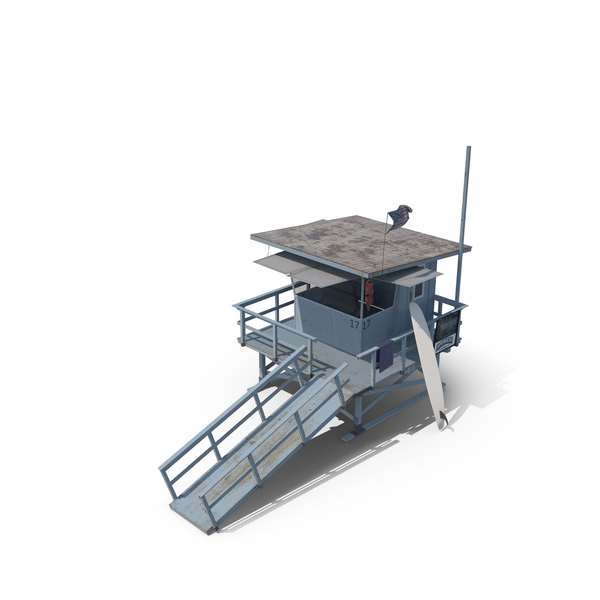 Lifeguard Tower PNG & PSD Images