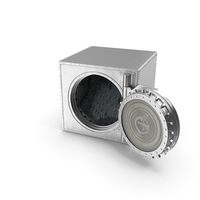Vault with New Dollar Stacks PNG & PSD Images