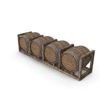 Wooden Barrels PNG & PSD Images