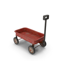 Toy Wagon Rusty Parked PNG & PSD Images