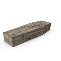 Wooden Coffin PNG & PSD Images
