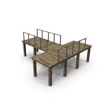 Wooden Pier Old PNG & PSD Images