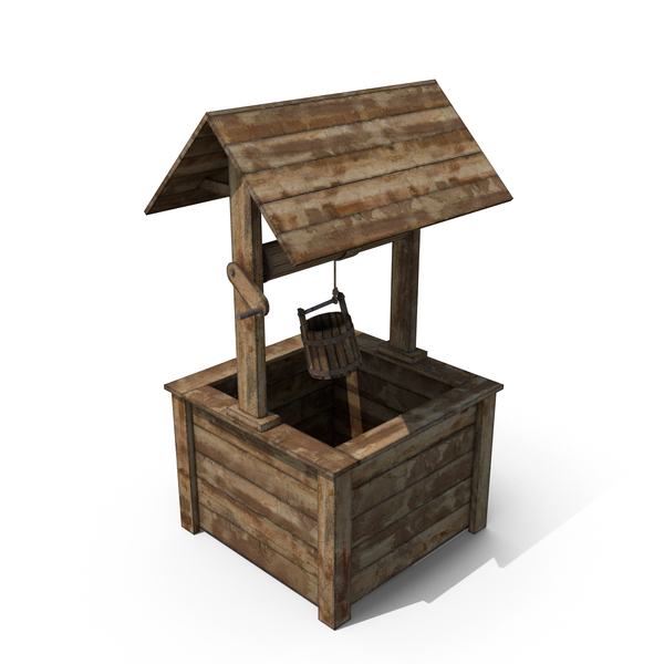 Wooden Well PNG & PSD Images