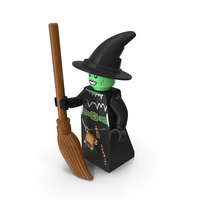 Lego Witch Minifigure PNG & PSD Images