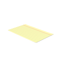Index Card Yellow PNG & PSD Images