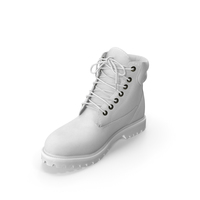 Mens Boots 2 White PNG & PSD Images