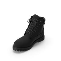 Mens Boots Black PNG & PSD Images