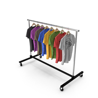 T-Shirt Clothing Rack PNG & PSD Images