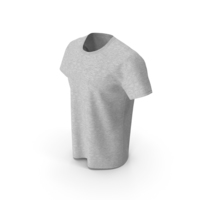 Round Neck T-Shirt PNG & PSD Images