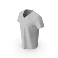 V Neck T-Shirt PNG & PSD Images