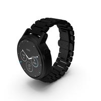 Moto 360 2nd Gen Black PNG & PSD Images