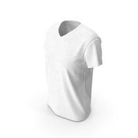\Women's V Neck T-shirt PNG & PSD Images