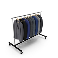Suits Clothing Rack PNG & PSD Images