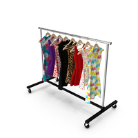 Dress Clothing Rack PNG & PSD Images