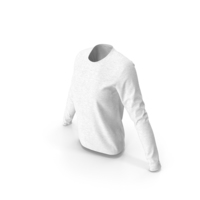 Women Round Neck Sweatshirt PNG & PSD Images