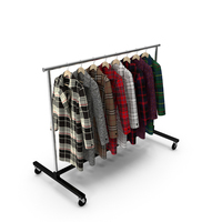 Coat Clothing Rack PNG & PSD Images
