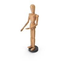 Wooden Figure Gestalta PNG & PSD Images