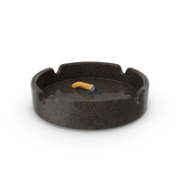 Put out cigarette in granite ashtray PNG & PSD Images