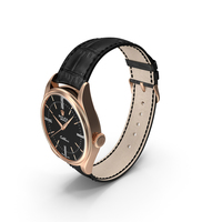 Rolex Cellini Time Black Dial Open and Closed PNG & PSD Images