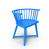 Blue Chair PNG & PSD Images