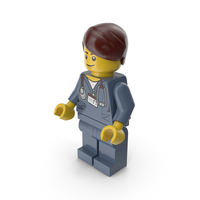 Lego Man Doctor PNG & PSD Images
