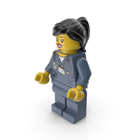 Lego Woman Doctor PNG & PSD Images