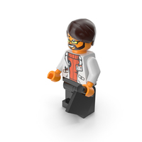 Lego Man Scientist PNG & PSD Images
