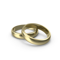 Gold Wedding Ring PNG & PSD Images