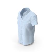 Woman Short Sleeve Shirt PNG & PSD Images