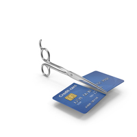 Credit Card Scissors Cut PNG & PSD Images