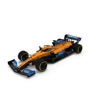 McLaren MCL35 F1 Car PNG & PSD Images