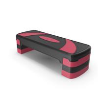 Adjustable Workout Aerobic Stepper PNG & PSD Images