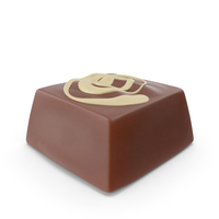 Square Chocolate Candy With Cheesecake Line Pop PNG & PSD Images